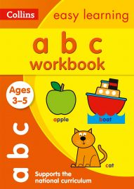 Collins Easy Learning- abc workbook - AGES 3-5.  Supports the National Curriculum