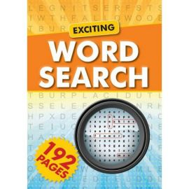 EXCITING WORD SEARCH- 192 pages