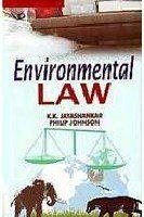 Environmental Law - Adv. K.K. Jayashankar & Philip Johnson