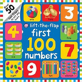 LIFT-THE-FLAP : FIRST 100 NUMBERS - By Roger Priddy