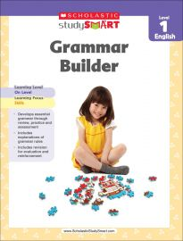 SCHOLASTIC STUDY SMART: GRAMMAR BUILDER - LEVEL 1 - ENGLISH
