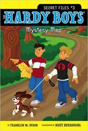 THE HARDY BOYS - SECRET FILES # 3 - UNDER MYSTERY MAP