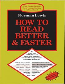 HOW TO READ MORE, HOW TO READ BETTER IN LESS TIME ! HOW TO READ BETTER & FASTER