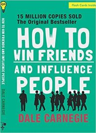 HOW TO WIN FRIENDS AND INFLUENCE PEOPLE by DALE CARNEGIE flash cards inside With a special story on Dale Carnegie by Lowell Thomas