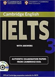 IELTS 3 WITH ANSWERS WITH 2 AUDIO CD