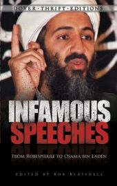 Dover Thrift Editions: INFAMOUS SPEECHES : From ROBESPIERRE To OSAMA BIN LADEN