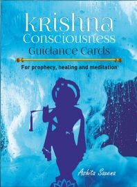 Krishna consciousness guidance cards with book