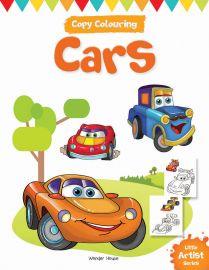 Little Artist Series - Cars : Copy Colouring Books