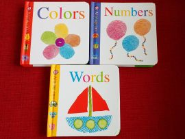 Mini Alphaprints 3 Boxed Set Slipcase - COLORS, NUMBERS, WORDS by Roger Priddy
