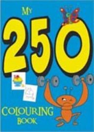 MY 250 COLOURING BOOK - 1