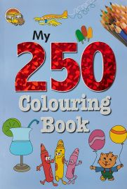 MY 250 COLOURING BOOK - 4