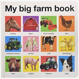 MY BIG FARM BOOK - By Roger Priddy