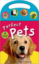 MY CARRY-ALONG SOUND BOOK Perfect Pets 4 Cute Pet Sounds by ROGER PRIDDY