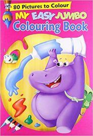My Easy Jumbo COLOURING BOOK
