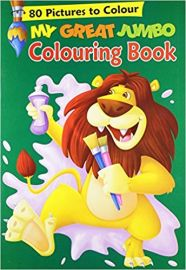 80 PICTURES TO COLOUR MY GREAT JUMBO COLOURING BOOK