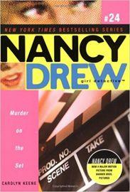 NANCY DREW SERIES # 24: GIRL DETECTIVE - MURDER ON THE SET