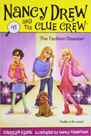 NANCY DREW AND THE CLUE CREW # 6 - THE FASHION DISASTER