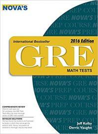 NOVA'S GRE MATH TESTS EDITION 2016