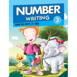 NUMBER WRITING 3 : 1-50- ONE TO FIFTY