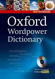 OXFORD WORDPOWER DICTIONARY - New 4th Edition - With CD ROM