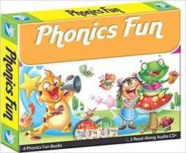 PHONICS FUN 8 phonics fun books 2 Read-along-audio CD