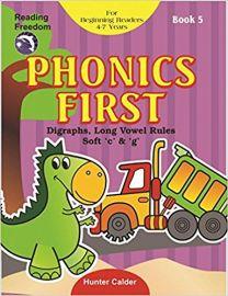 PHONICS FIRST BOOK - 5