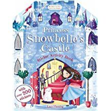 PRINCESS SNOWBELLES CASTLE STICKER ACTIVITY BOOK BLOOMSBURY ACTIVITY BOOKS
