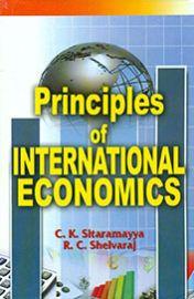 Principles of International Economics - C. K. Sitaramayya & R. C. Shelvaraj
