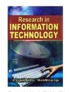 Research in Information Technology - K. Jagannatha Rao & Murali Mohan Raju