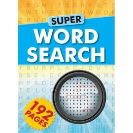 SUPER WORD SEARCH- 192 pages