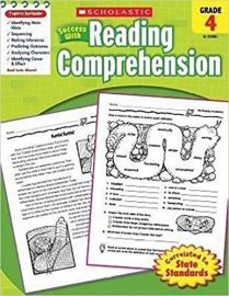 Scholastic Success With: Reading Comprehension Workbook: Grade 4