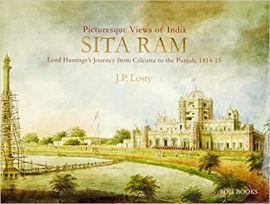 SITA RAM'S PAINTED VIEWS OF INDIA - J.P. Losty