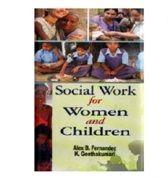 Social Work for Women and Children - Alex B. Fernandez & K Geethakumari