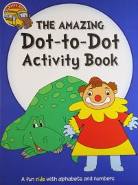 The Learning Bus: THE AMAZING Dot-to-Dot Activity Book - A Fun Ride With Alphabets and Numbers