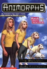 ANIMORPHS # 22: THE SOLUTION- A MISTAKE HAS BEEN MADE. HIS NAME IS DAVID...