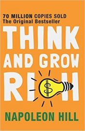 THINK AND GROW RICH by NAPOLEON HILL with the original preface by Napoleon Hill flash cards inside