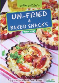 UN-FRIED AND BAKED SNACKS - Vegetarian. Enjoy Snacks without deep frying.