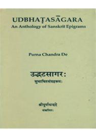 Udbhatasagara : An Anthology of Sanskrit Epigrams