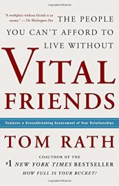 THE PEOPLE YOU CANT AFFORD TO LIVE WITHOUT VITAL FRIENDS : Features A Groundbreaking Assessment Of Your Relationships