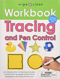 WIPE CLEAN WORKBOOK : TRACING AND PEN CONTROL - By Roger Priddy