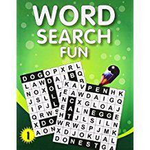 My Big Activity Book: WORD SEARCH FUN- 1